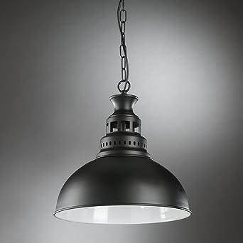mate lacado de techo Lámpara IstanbulMetal negro onli CsrhBtQdx