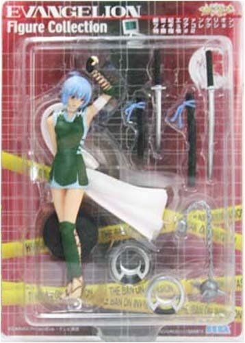 - Evangelion Figure Collection secret military directive # 2 Rei Ayanami Ver