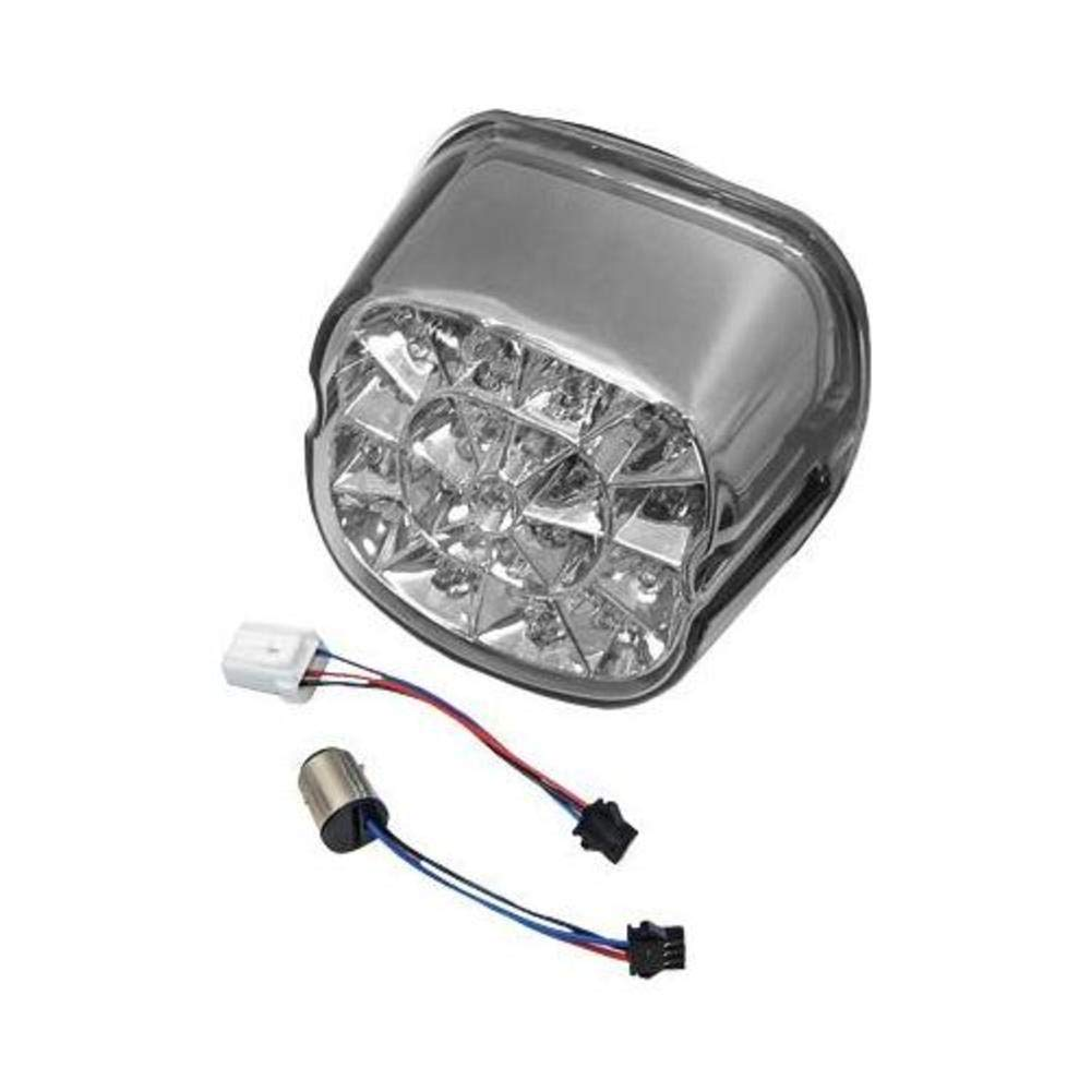 HardDrive L24-0433DMLED Smoke Laydown Led Taillight Lens