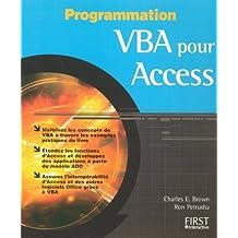 Vba pour access - programmation