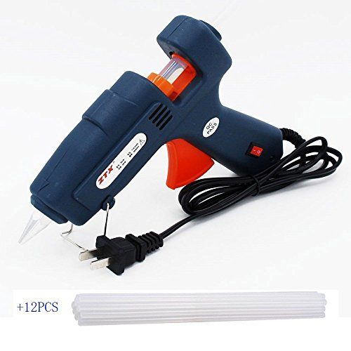 blupow-80w-hot-glue-gun-high-temperature-hot-melt-adhesive-gun-with-12pcs-105inch-sticks-80w-12stick