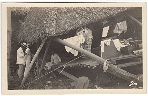 Real Photo Postcard Philippine Village After the Great Typhoon of 1920~94132 ()