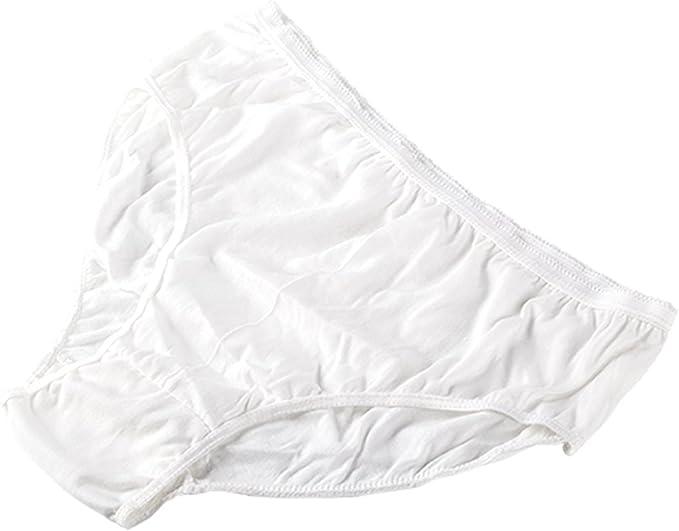 Ropa Interior de algodón desechable 100% Puro Bragas de Viaje ...