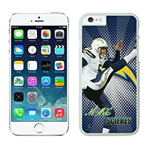 NFL iPhone 6 Plus 5.5 Inches Case San Diego Chargers Mike Scifres White iPhone 6 Plus Cell Phone Case ONXTWKHC3723
