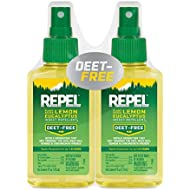 REPEL Plant-Based Lemon Eucalyptus Insect Repellent, Pump Spray, 4-Ounce, Pack of 2