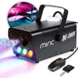Best Fog Machines - Miric 400W Portable Fog Machine with Wired Review