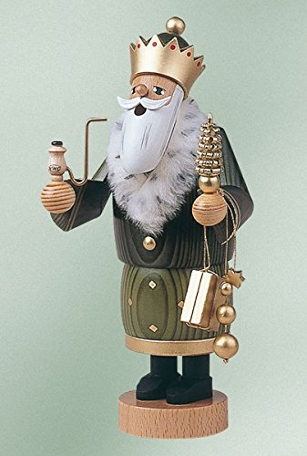 KWO 3 Kings Balthasar German Christmas Incense Smoker Three Wisemen Series New by Pinnacle Peak Trading Company