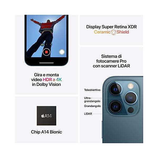 Novità Apple iPhone 12 Pro Max (256GB) - blu Pacifico 5