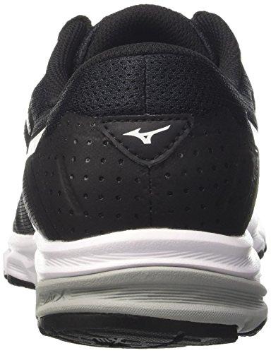 Synchro Chaussures de Multicolore Black Griffin Running Homme Noir Mizuno White MD dBqWwg