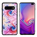 Borlife Galaxy S10+ Case, Lightweight Soft Flexible TPU Rubber Phone Case Extra Shock-Absorb Cover with Camera Protection Anti-Scratch Protective Shell for Samsung Galaxy S10 Plus 6.4' 2019, Design-1