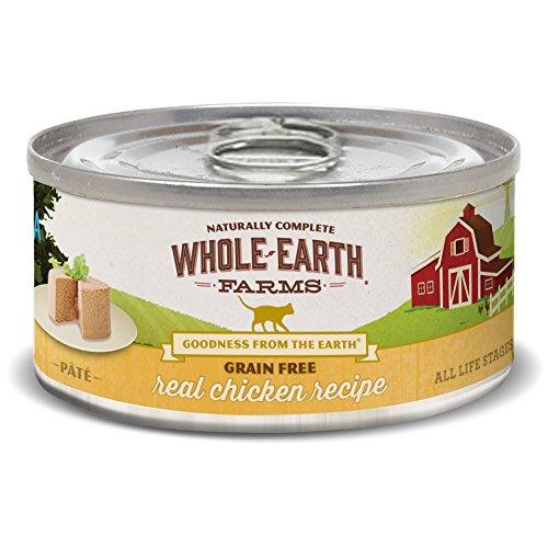 Whole Earth Farms Grain Free Receipe, 5 oz, Chicken, 24 Count
