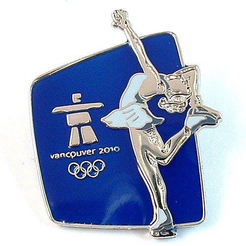 Vancouver 2010 Olympics - Silhouette Figure Skating Pin ()