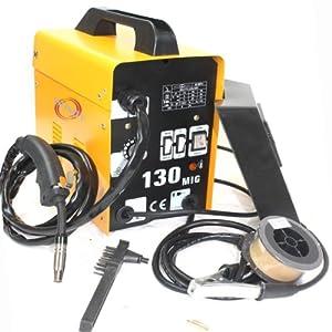 InfinityUS 120AMP MIG 130 220V Flux Core Welding Machine Welder Spool Wire Auto Feed + Fan