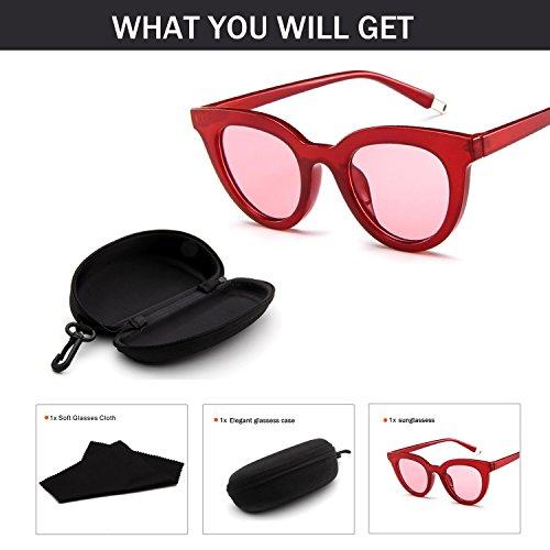 急行するまぶしさ美しい女性 ファッション サングラス レトロ 偏光 キャンディーカラー 眼鏡 ファッションサングラス