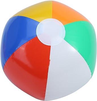 Pack de 8 Pelotas Hinchables para Playa de 23cm Multicolor Bolas ...