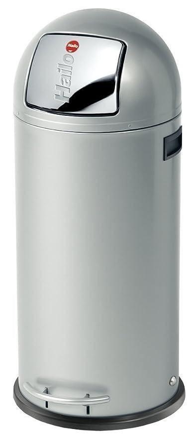 Hailo Pure Waste Bin S White Matte Contemporary Trash Cans