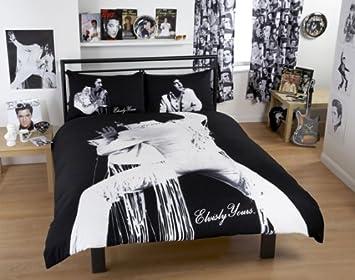 Elvis Presley 70s Elvis Bettwäsche Set Für Doppelbett 100