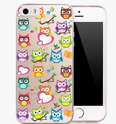 2 opinioni per Asmiled-Custodia di protezione in Silicone Tpu per iPhone 4S, 5S, 5C, iPhone 6