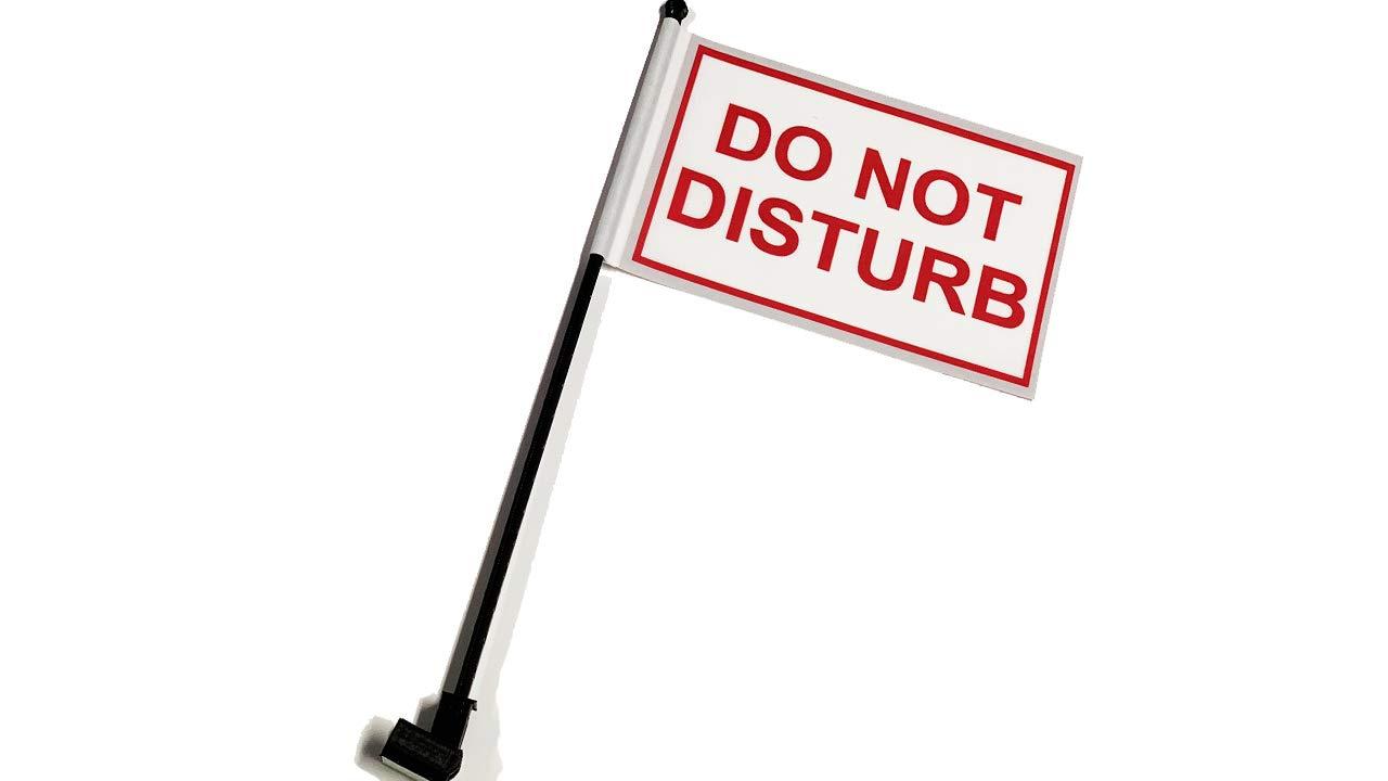 Do Not Disturb Desk Flag with Flag Up Flag Down 360 Clip Pomodoro Status Alert Office