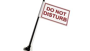 Do Not Disturb Bandera de la bandera de escritorio con bandera de hasta abajo 360 Clip