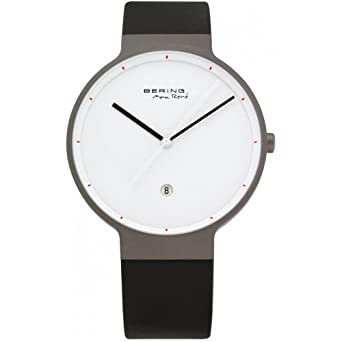 Bering Time 12639-874 - Reloj analógico de cuarzo para hombre con correa de plástico, color: Amazon.es: Relojes