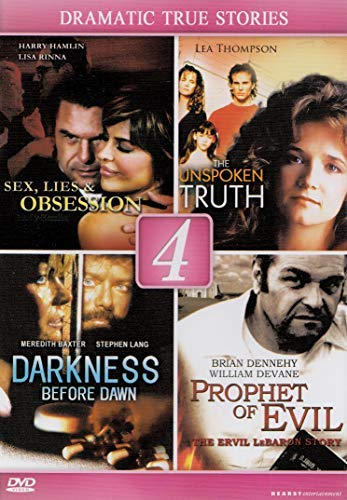 Sex, Lies & Obsession / The Unspoken Truth / Darkness Before Dawn / Prophet Of Evil (Lifetime Dvd Movies)