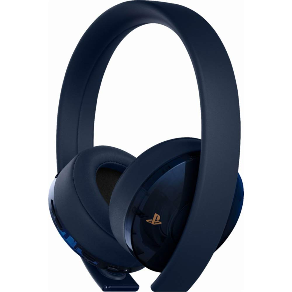 Auriculares Gamer : Sony Ps4 Gold Wireless 7.1 Surround Sou