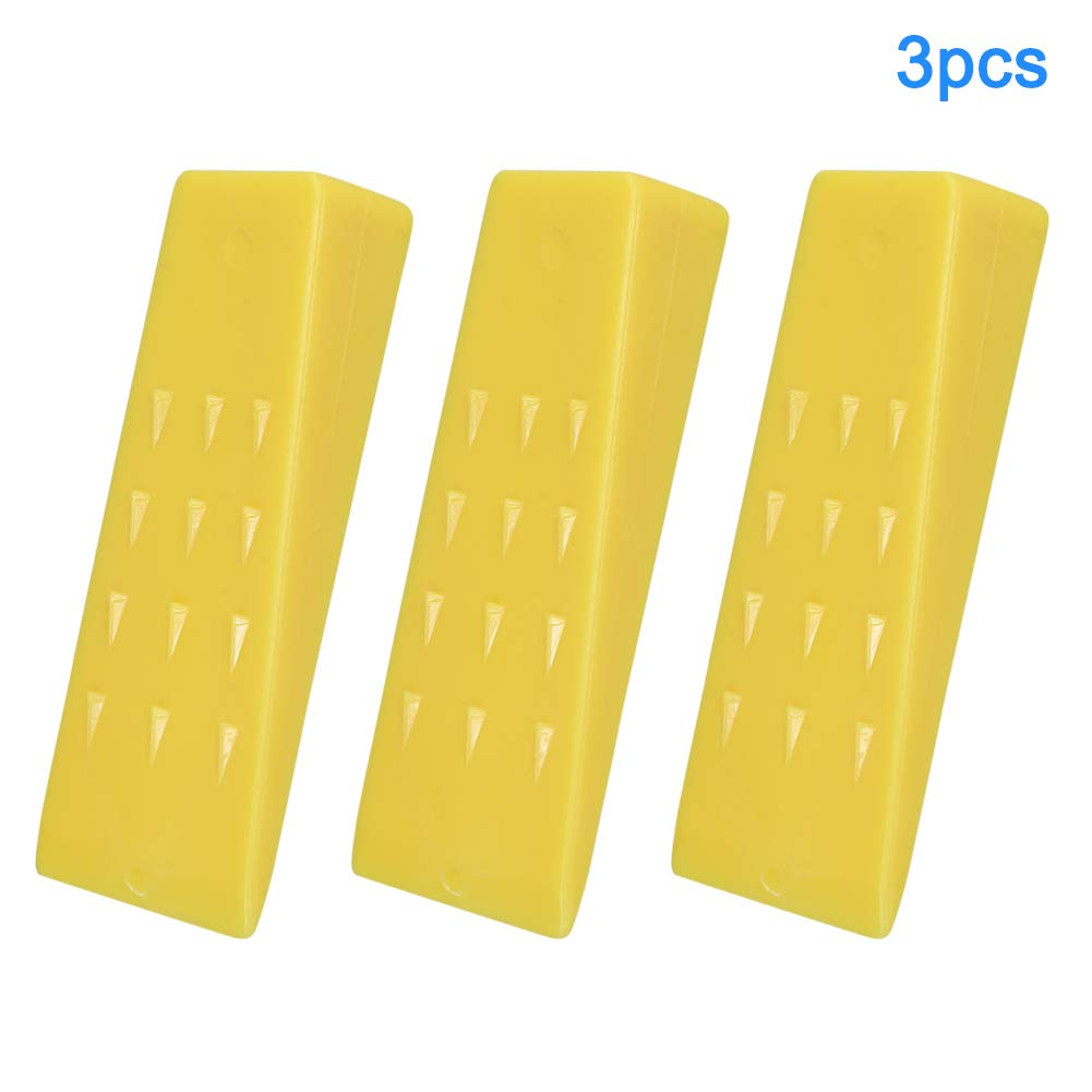 eamqrkt 3Pcs Tree Felling 5Inch Wedges for Logging Falling Cutting Cleaving Chainsaw