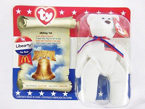 Libearty Bear (McDonald¡¯s 2000 Libearty The Bear Ty Beanie Baby _#GER4T134D G54EG-4314175494)