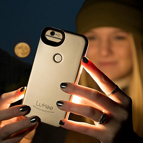 LuMee Two for iPhone 8/7/6s/6, The Original and AuthenticPatentProtected Selfie Case - Gold Matte by LuMee (Image #6)