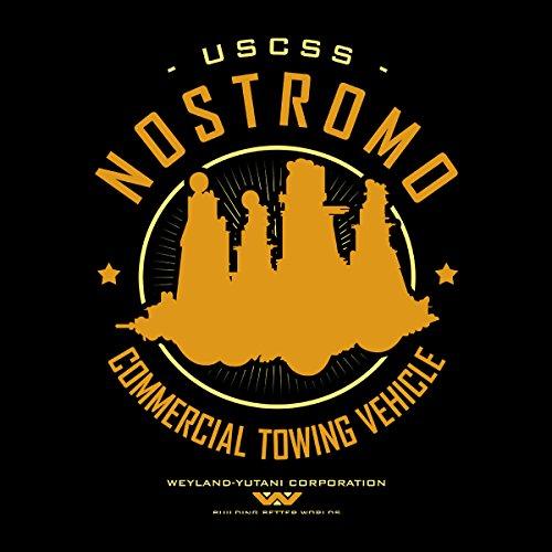 Alien Jacket Uscss Men's Black Varsity Starfreighter Nostromo white qCEZOwvR