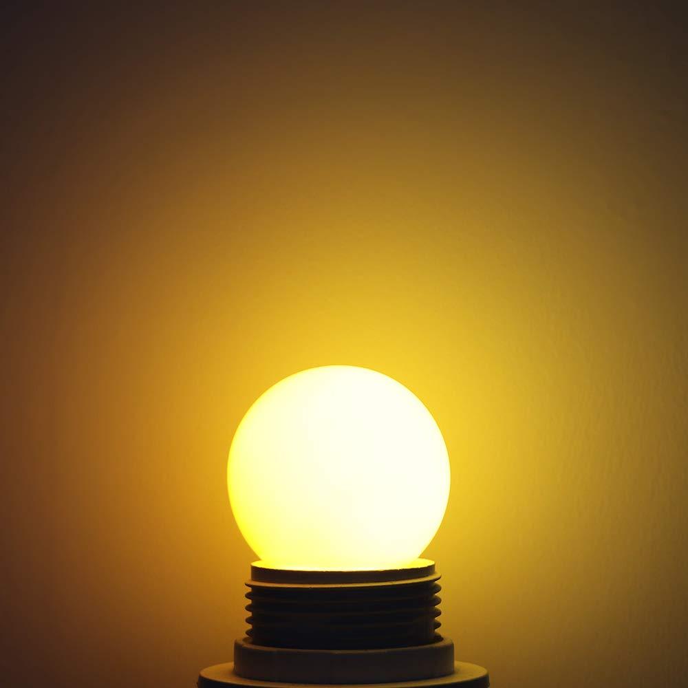 Bianco Winbang Lampadine Decorative Lampadine E27 LED Lampadine a Risparmio energetico 0,5W