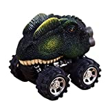 Hunpta New Children's Day Gift Toy Dinosaur Model Mini Toy Car Back Of The Car Gift (D)
