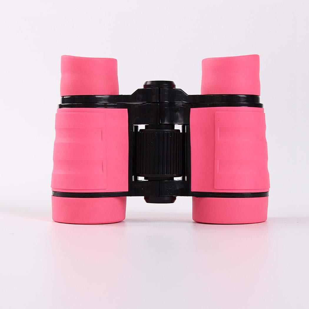 Queges Compacto de alta resoluci/ón para observaci/ón de aves Senderismo con binoculares para ni/ños con /óptica real Reflectores