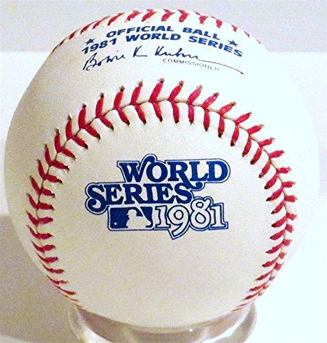 1981 World Series - Rawlings 1981 Official World Series Game Baseball