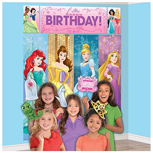 Amscan Disney Princess Dream Big Scene Setter with Photo -