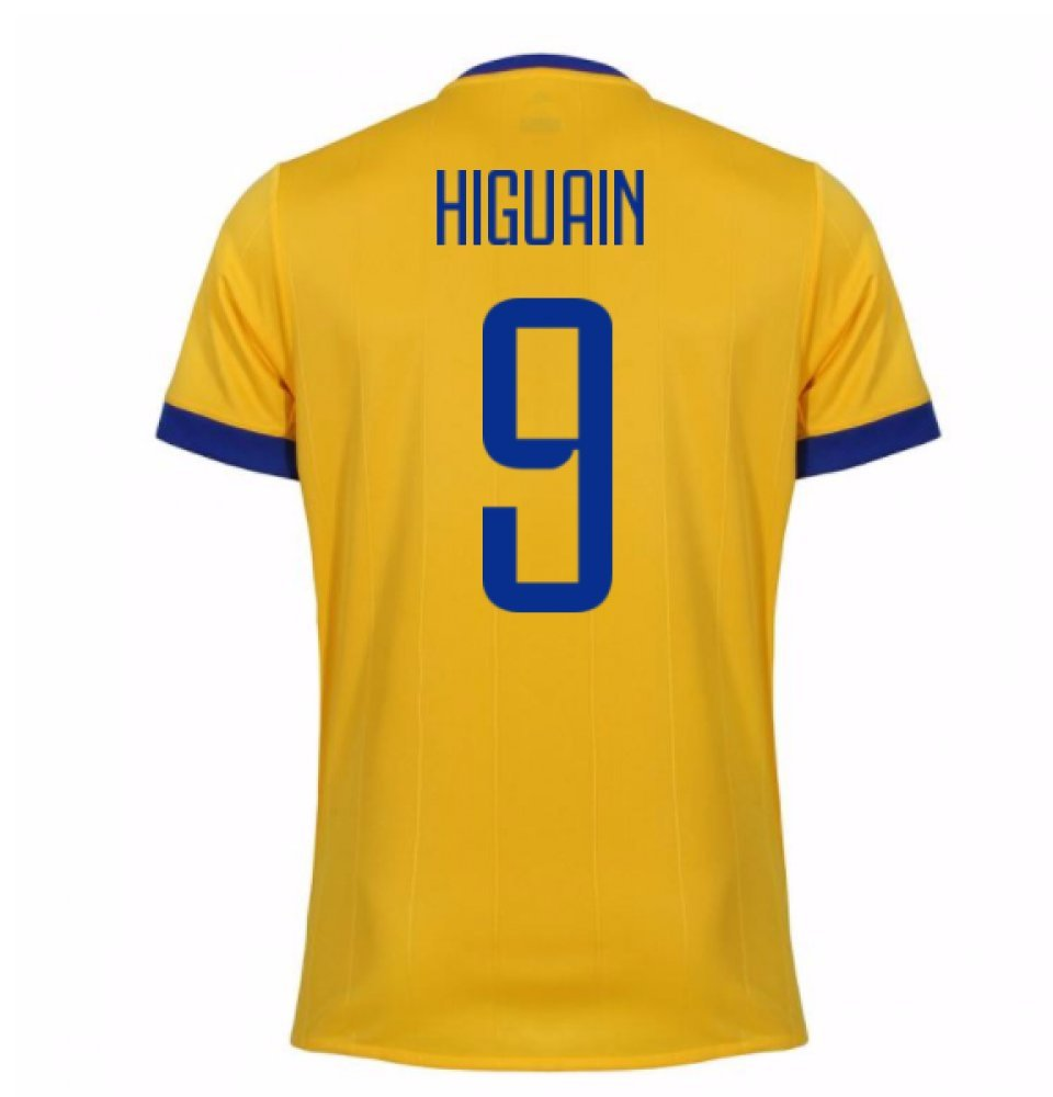 2017 – 2018 Juventus Away Shirt ( Higuain 9 ) – キッズ B075FX8KNGHiguain 9 Large Boys 30-32\