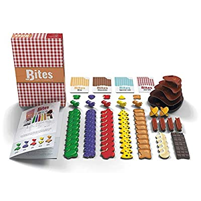 Bites - Board Game - 2 to 5 Players - 20 Minute Play Time: Toys & Games