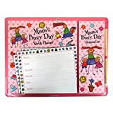 Magnetic Planner Set, Weekly Planner & Shopping List - Mums Busy Day Design