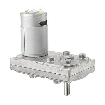 ExcLent Motor De Engranaje Dc 12V 6000Rpm Motor De Accionamiento ...