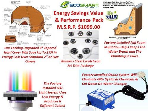 Lifesmart 600DX Solid Spa Jets Energy Value