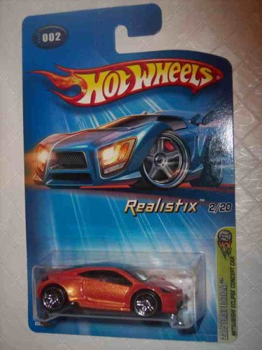 mitsubishi eclipse hot wheels - 7