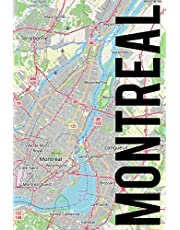 Montreal: 6x9 blank lined journal