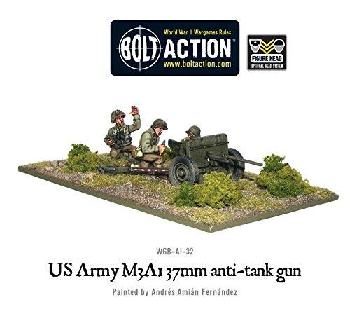 37 Mm Anti Tank - 37mm Us Army Anti-tank Team Miniatures