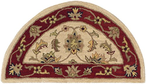 L. R. Resources LR10577-IVRE24 Shapes Area Rug, Ivory/Red (Lr Resources Shapes)