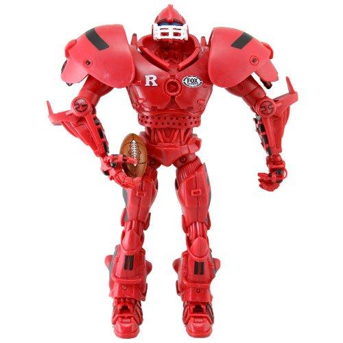 NCAA Rutgers Scarlet Knights 10-Inch Fox Sports Team Robot by foam head