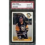 63264e3460b Mario Lemieux Pittsburgh Penguins Autographed Black #66 Custom ...