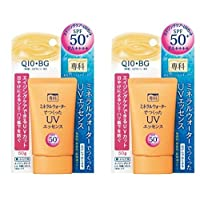 Shiseido Senka Aging Care UV Sunscreen SPF50+ PA++++ (Pack of 2)