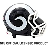 Portable Bluetooth Speaker, NIMA [Officially Licensed by NFL] NFL Football Helmet Super Mini Stereo Speaker with Built-in-Mic, Hands-free Call, AUX HD Sound and Bass-LA Rams