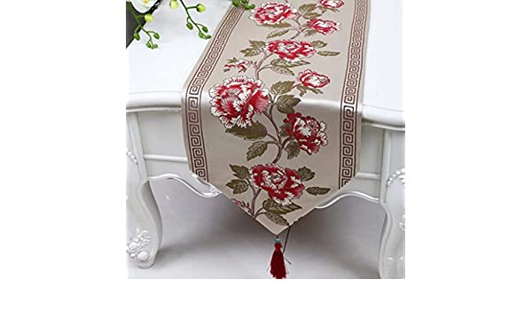 Wddwarmhome Table Runner Tableta De Mesa Simple De Mesa De Mesa De ...